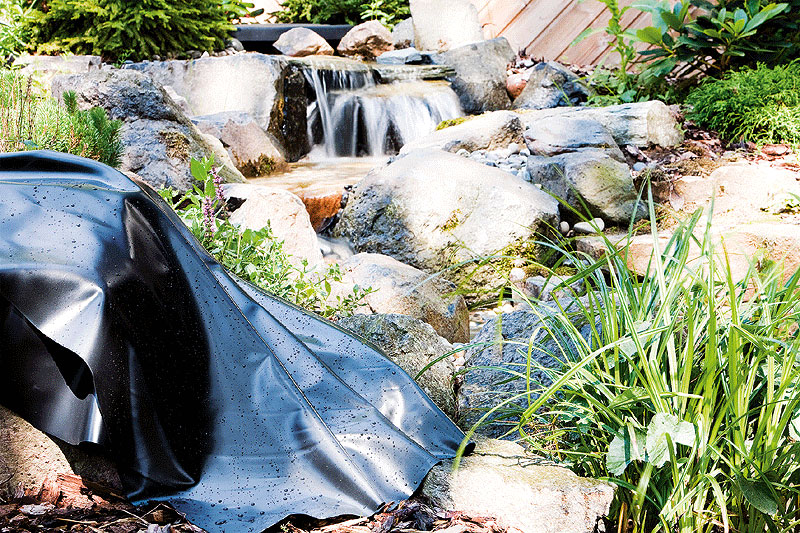 Pvc pond liner packed tf184 00 for Pond liners for sale